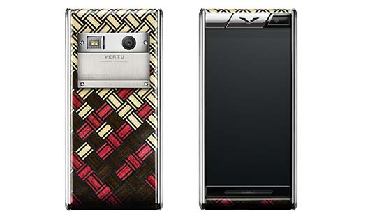 Vertu Aster Yosegi Wood Limited Edition