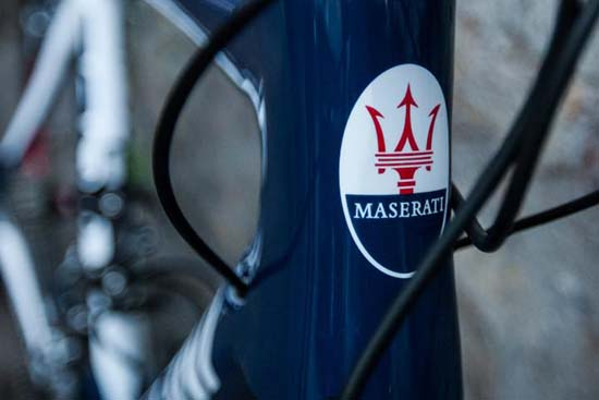 Maserati x Cipollini Bond Road Bike Up For Auction