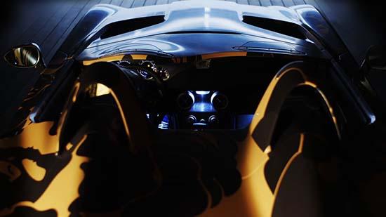 Mercedes-Benz McLaren SLR Stirling Moss In Camo Print by BAPE