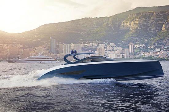 Bugatti x Palmer Johnson Super Luxury Yacht