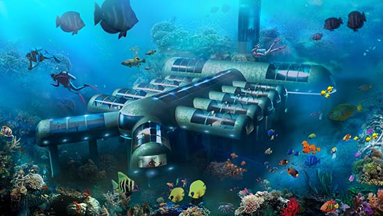 Underwater Luxury Hotel Receives Patent Approval