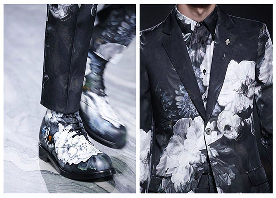 Alexander McQueen Astounds Us With Their New Hand Painted Floral Shoes