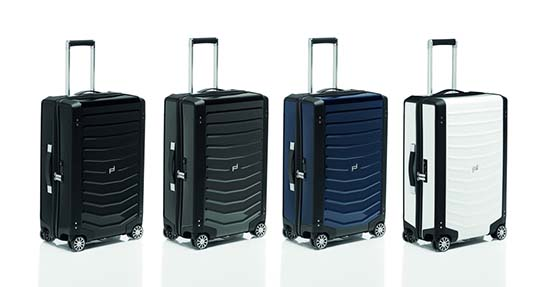 Porsche Design Roadster Hardcase Luggage Collection