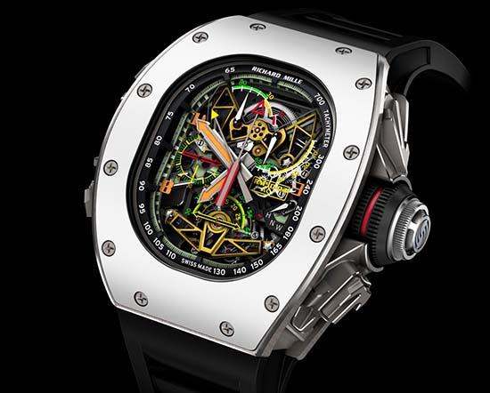 Richard Mille RM 50-02 ACJ Tourbillon Split Seconds Chronograph Is Incredible