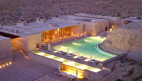 Take some time off at the Beautiful Amangiri Luxury Resort