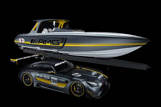 Cigarette Racing 41' SD GT3 Inspired by Mercedes-AMG GT3