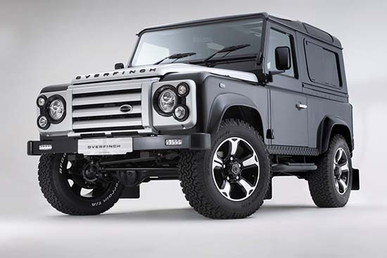 Land Rover Defender 40th Anniversary by Overfinch Is A Rare Treat
