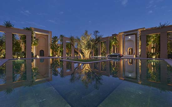 Take Some Time Off At The Beautiful Mandarin Oriental Marrakech