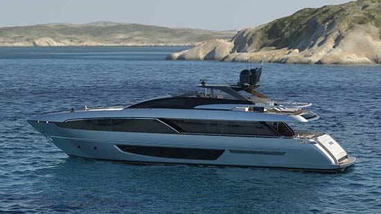 Riva 100′ Corsaro Will Take You On a Wonderful Adventure