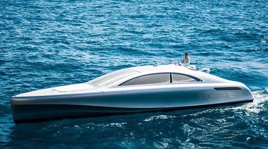 Mercedes-Benz Arrow460-Granturismo Luxury Yacht Revealed