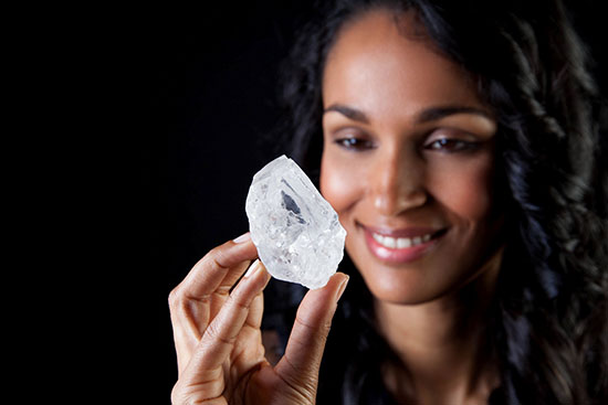 Tennis Ball-Sized Diamond Called Lesedi la Rona Could Fetch $70M At Auction