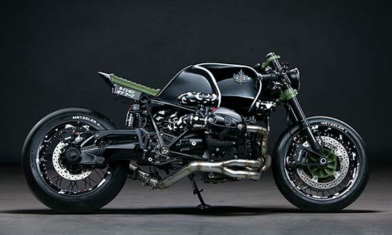 BMW R nineT by Diamond Atelier & K1X Is Spectacular