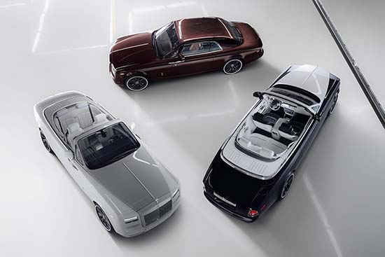 Rolls Royce Ends Phantom Production With Zenith Collection