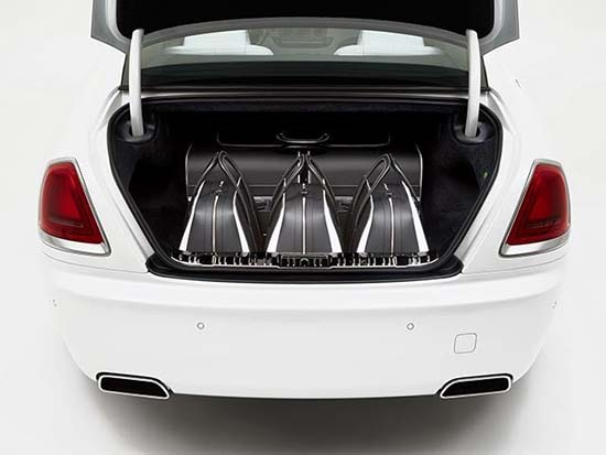 Rolls-Royce's New Luxury Luggage Set Costs A Staggering $45,854