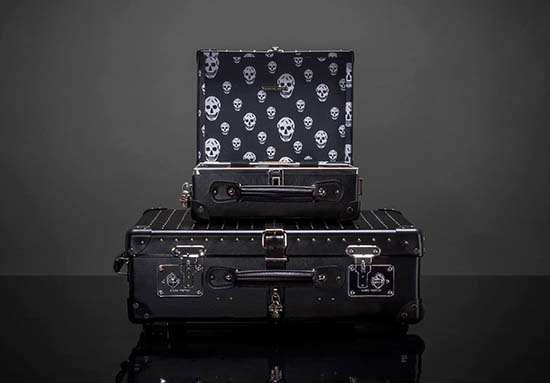 Alexander McQueen x Globe-Trotter Limited Edition Luggage Line