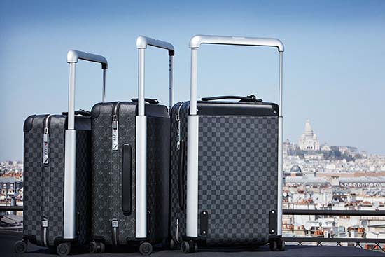 Louis Vuitton Introduces Rolling Luggage Trunks Designed by Marc Newson