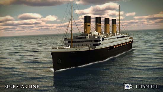 Titanic II Will Set Sail in 2018