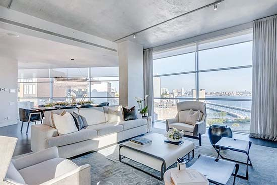 Here's a Look Inside Kim Kardashian's $30 Million New York City Airbnb Penthouse