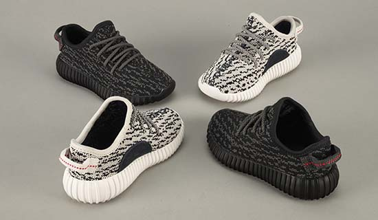 Kanye West Debuts Yeezy Boost 350 Infant & Toddler Version