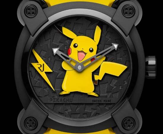 RJ-Romain Jerome Introduces Pokémon Pikachu Watch