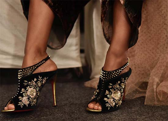 The Stunning Louboutin x Sabyasachi Collection Is Here