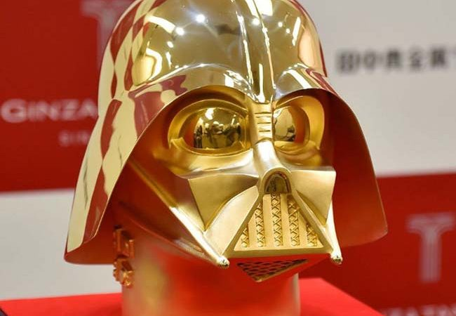 This Solid Gold Darth Vader Mask Costs Only $1.4 Million