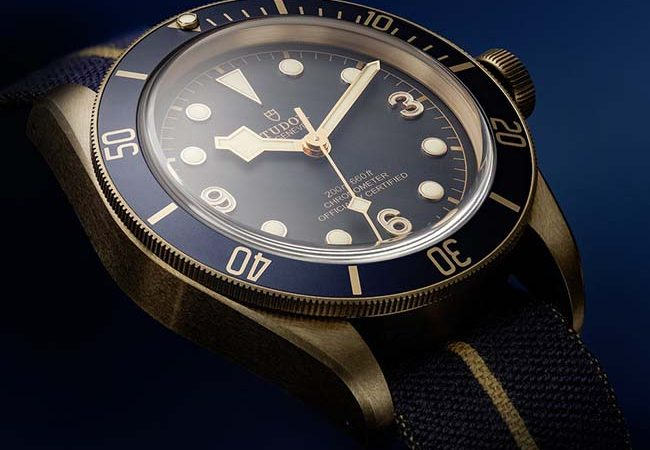 Tudor x Bucherer Black Bay Bronze Blue Special Edition