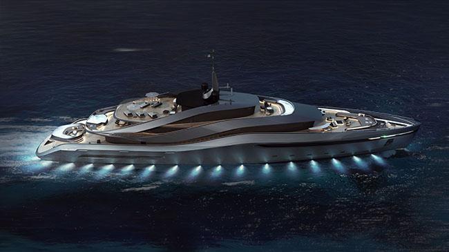 Aurea Yacht Concept by Pininfarina x Rossinavi