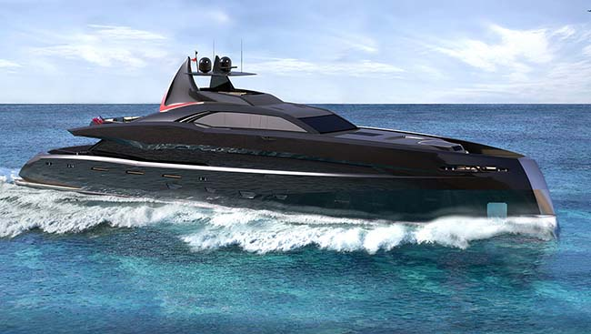 The Gotham Project Superyacht Is Worthy Of Batman Movies