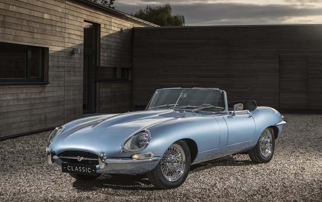 Jaguar E-Type Zero Is The Most Beautiful Electric Car Ever Made