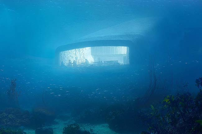 Snøhetta Unveils Design for Underwater Restaurant