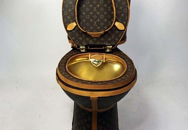 This Louis Vuitton Toilet Can Be Yours For $100,000