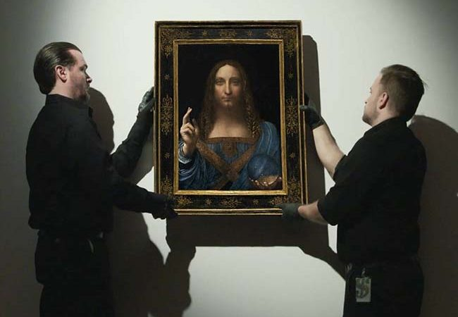 Leonardo da Vinci's Salvator Mundi Sells For Record $450M