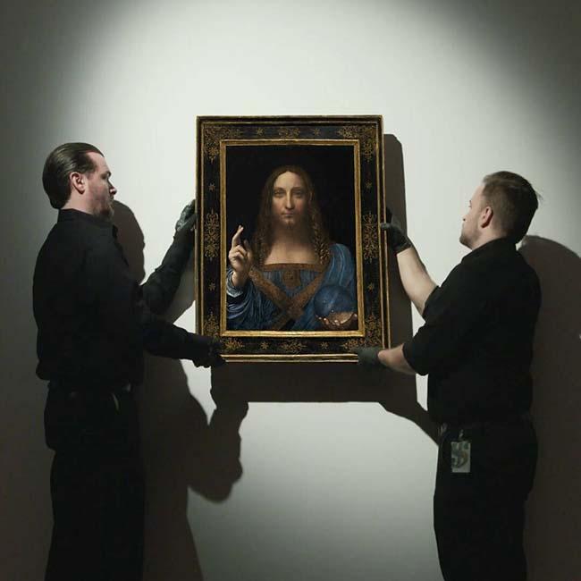 Leonardo Salvator Mundi 450m >> Leonardo da Vinci's Salvator Mundi Sells For Record-Breaking $450M