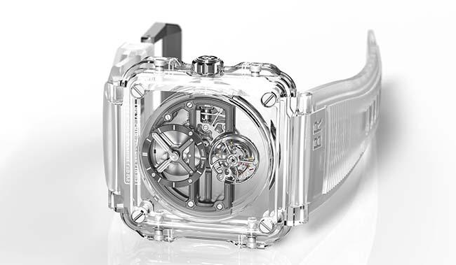 The Impressive Bell & Ross BR-X1 Skeleton Tourbillon Sapphire Watch