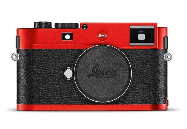 Leica Typ 262 With Striking Red Anodized Finish