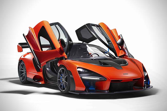 McLaren Senna Is The Ultimate Road-Legal Track Car