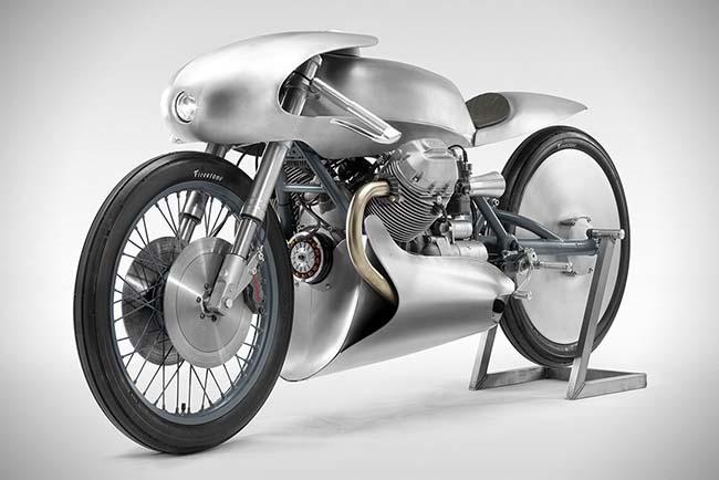 Moto Guzzi Airforce Is A Futuristic Café Racer