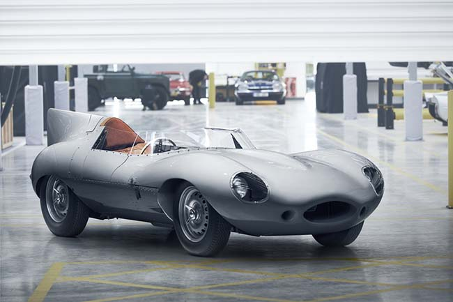 Jaguar Is Re-Starting Production Of The Iconic D-type