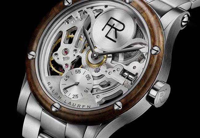 Ralph Lauren Automotive Skeleton Steel Watch
