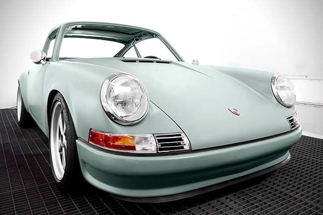 Dutch Company Turns Old Porsche 911s Into Electric Cars