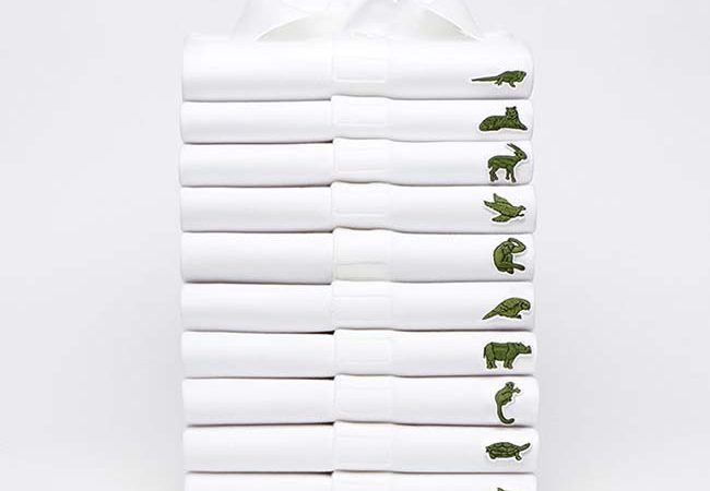 Lacoste Replaces Its Iconic Crocodile Logo With Endangered Animals