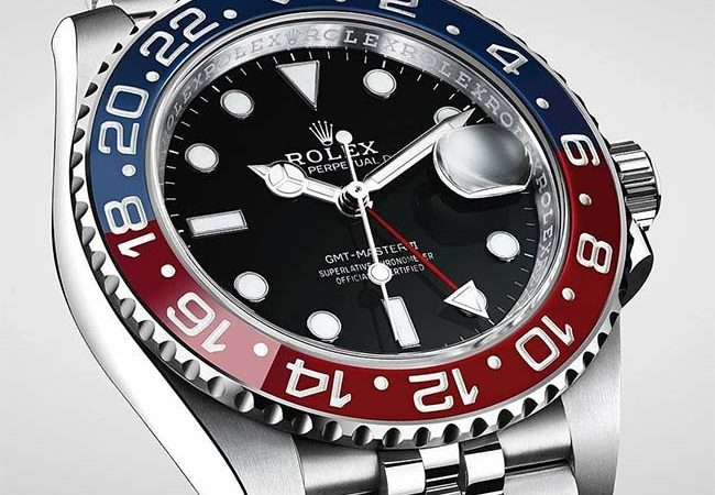 Rolex GMT-Master II Pepsi in Stainless Steel