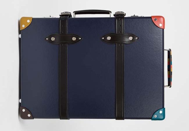 Travel In Style With Globe-Trotter x Paul Smith Trolley Case