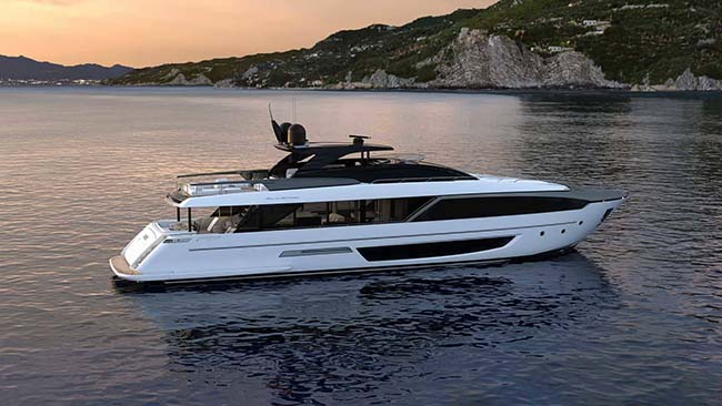 Riva 110' Dolcevita Unveiled Just in Time for Summer