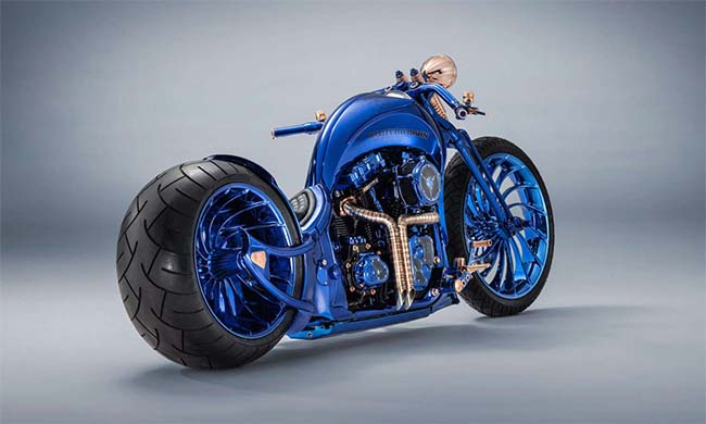 Harley-Davidson x Bucherer Blue Edition Is the Most Expensive Bike Ever