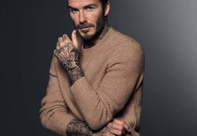 David Beckham Returns For Tudor's Born To Dare Campaign