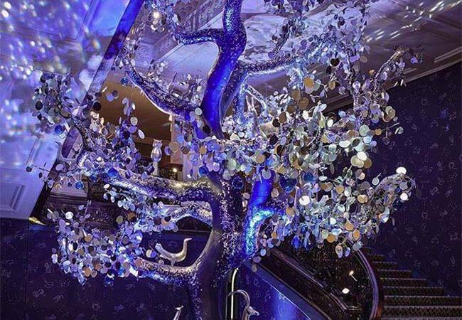 Claridge's Christmas Tree 2018 By Diane von Furstenberg Unveiled
