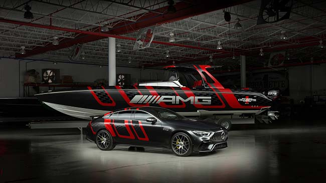 Mercedes-AMG x Cigarette Racing 41' AMG Carbon Edition