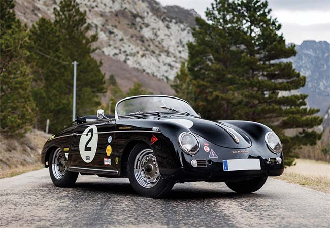 1957 Porsche 356 A Speedster by Reutter Is Headed to Auction